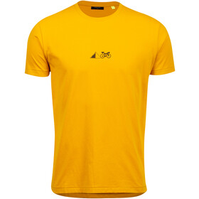 PEARL iZUMi Graphic Tee Men gold lean it